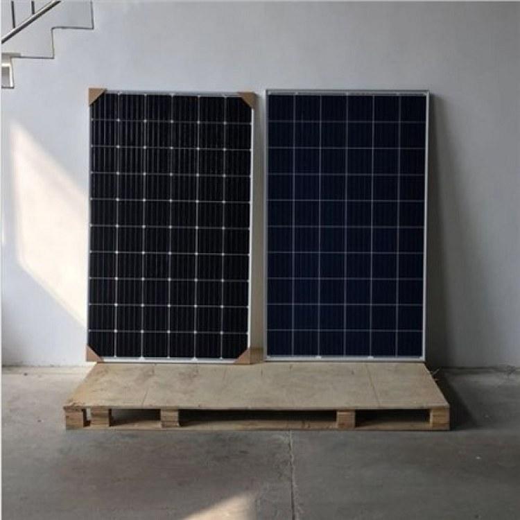 拆卸太阳能组件回收 电站废旧光伏板_太阳能板收购 降级组件回收