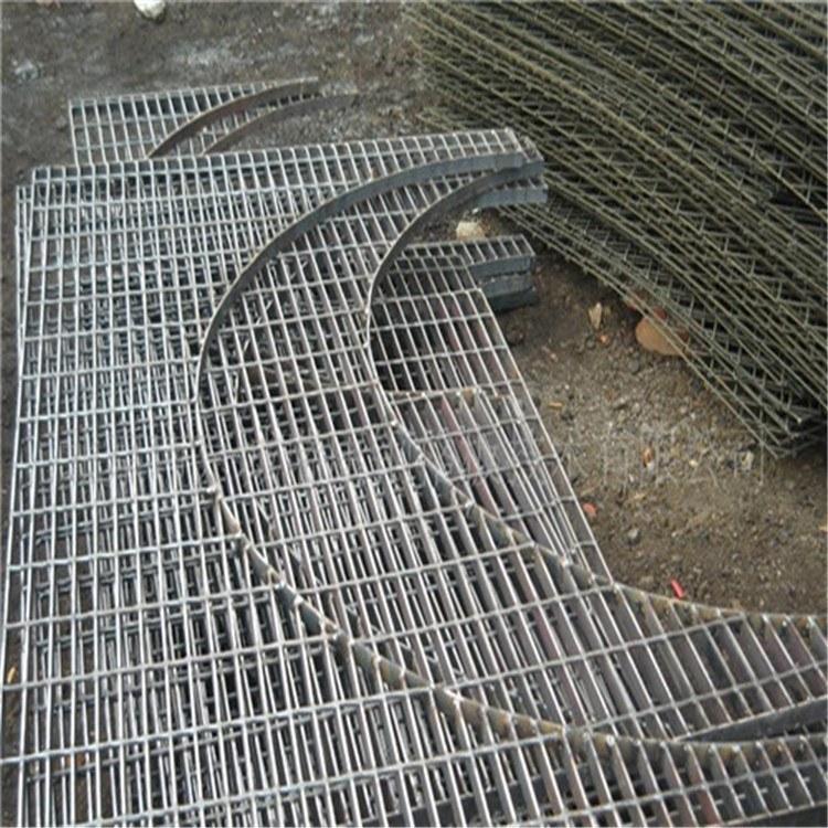 厂家材质选择 异形钢格栅 电厂钢格板 镀锌格栅板 抗冲击