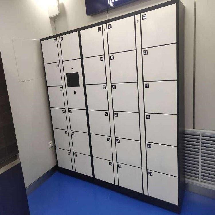 宇科创智 超市电子存包柜 智能存放柜 会议室部队智能手机保管柜 医院更衣柜 支持定制