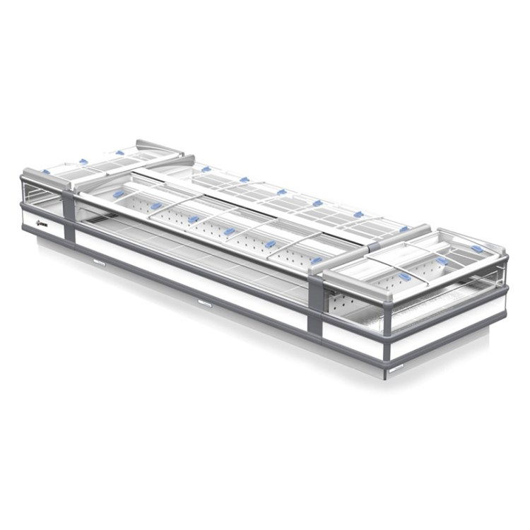 开放式海鲜冷藏柜 敞开菜品展示冷藏柜