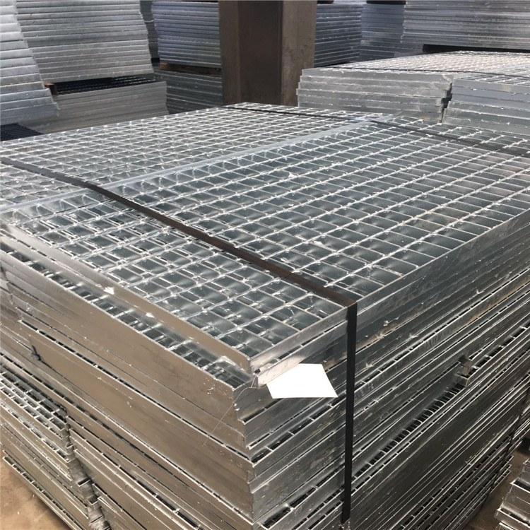 【六畅】定制重型镀锌排水沟盖不锈钢钢格板 耐磨防滑热镀锌钢格板