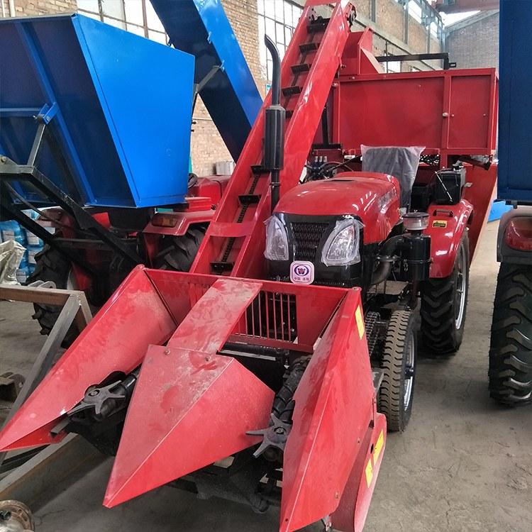 直销  玉米联合式收割机 茎穗兼收玉米收割机