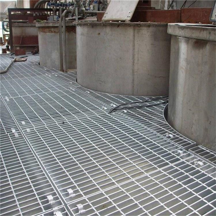 厂家可定做 钢格栅 热镀锌钢格板 镀锌钢格栅 亿如方便安装