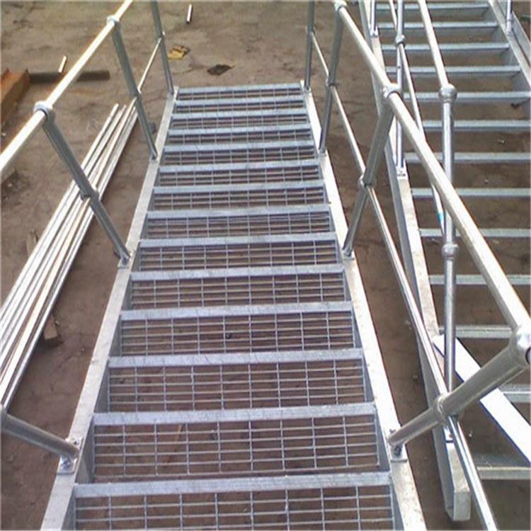 厂家质量可靠 异形钢格栅 电厂钢格板 镀锌格栅板 常用型号