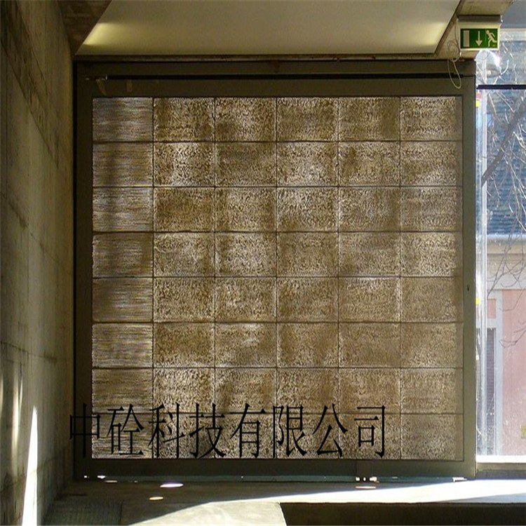 透光混凝土 特色建筑混凝凝土上海 济宁 南昌长期供应厂家直销
