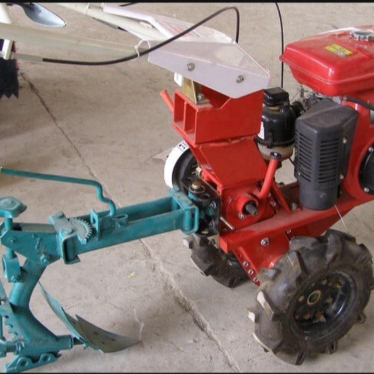 四冲程小地块旋地机 多功能小型农用旋地机 果园土地用汽油旋耕机