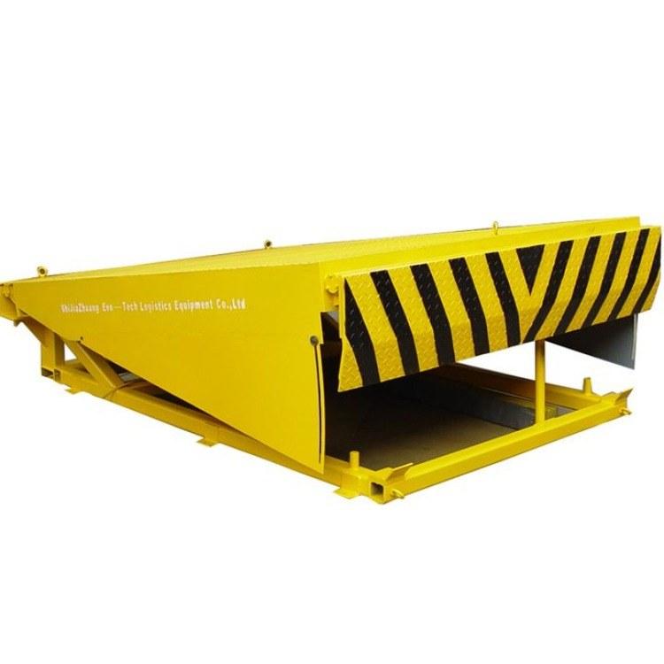 航天品牌热卖高品质操作简单升降平稳固定式登车桥辅助作业叉车月台