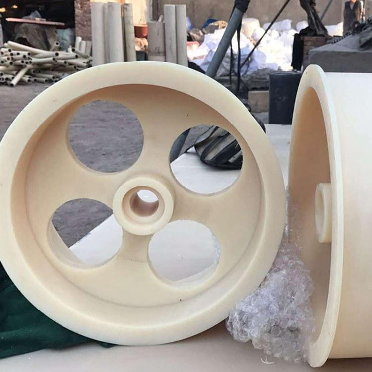 德祥长期加工 含油尼龙法兰,加玻纤尼龙配件,塑胶垫 品质优选