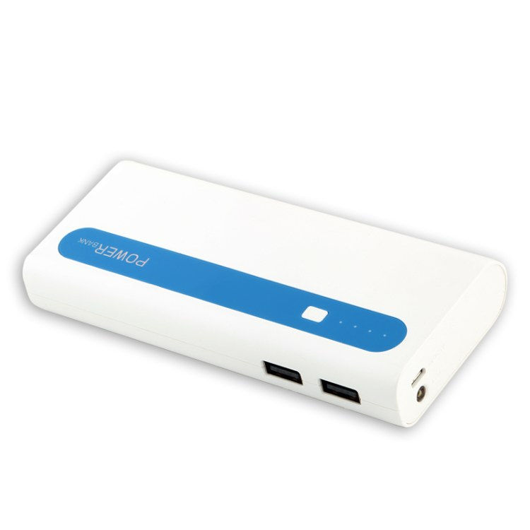 生产 迷你充电宝 双USB输出5v2A大容量13000mAh移动电源  加工定制厂家光晖达
