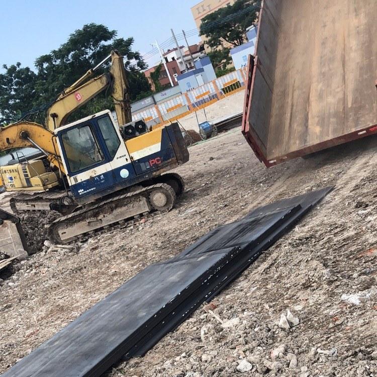 铺路钢板建筑工地铺路   地铁施工