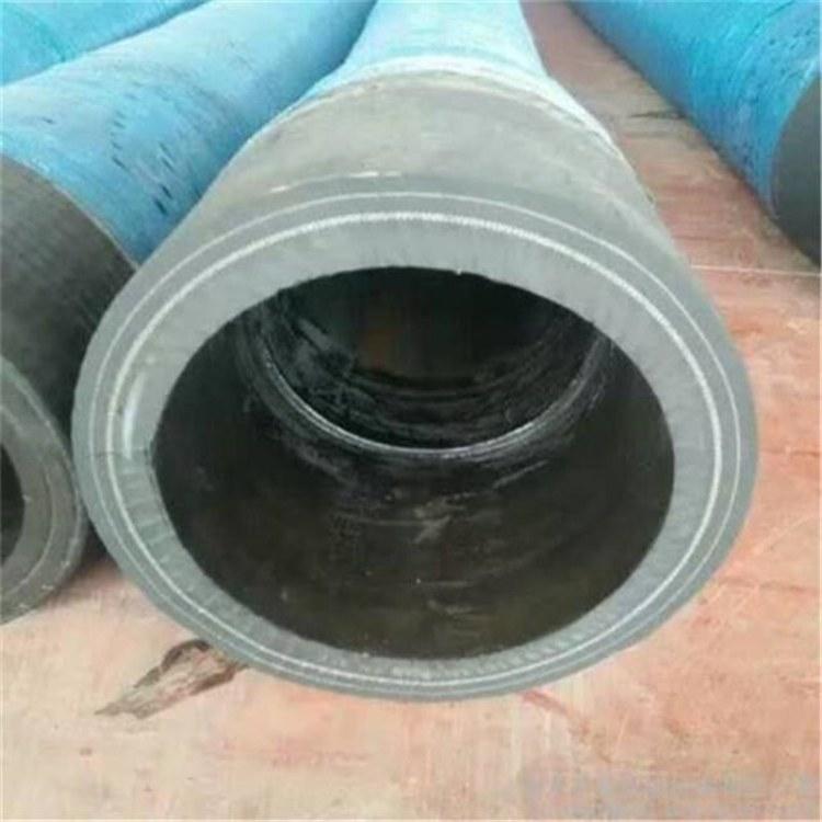 河北弘创直销耐高温散装水泥罐车卸灰胶管 DN102耐磨水泥罐车卸灰胶管 抗老化使用寿命长
