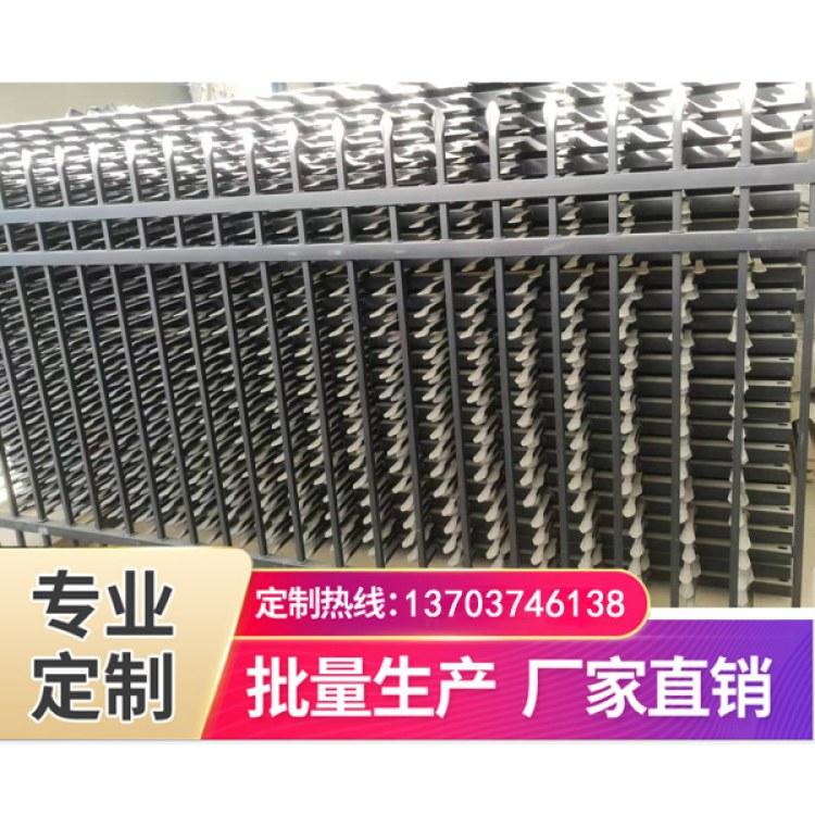 锐龙厂家销售小区锌钢护栏 别墅安全防护围墙栅栏