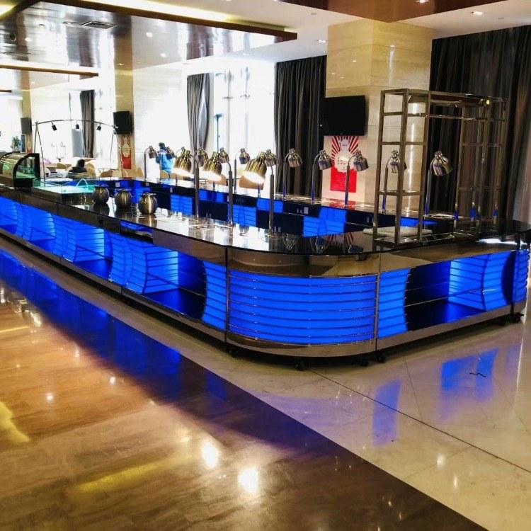 广州尊尚厂家直销 自助餐台 移动自助餐台 自助餐布菲台