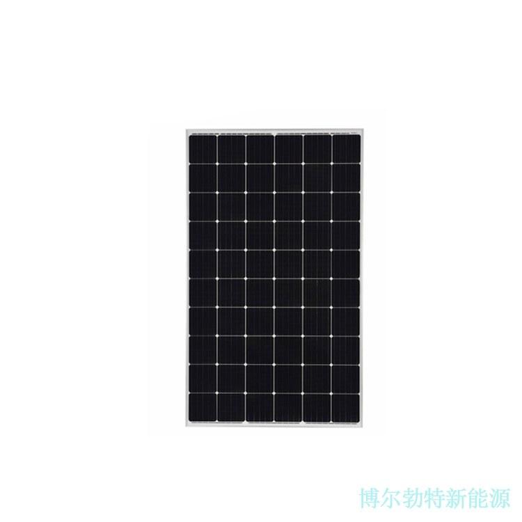 60片单晶PERC 太阳能电池板 离网发电系统