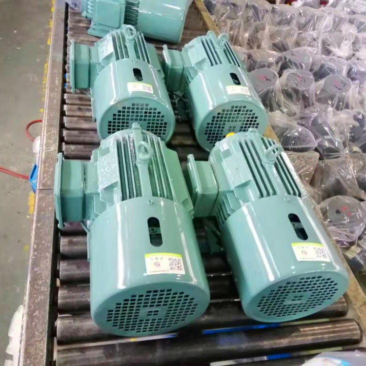 厂家直销  江苏高科  1.5KW电磁制动电机  YEJ2-90L-4极  刹车电机
