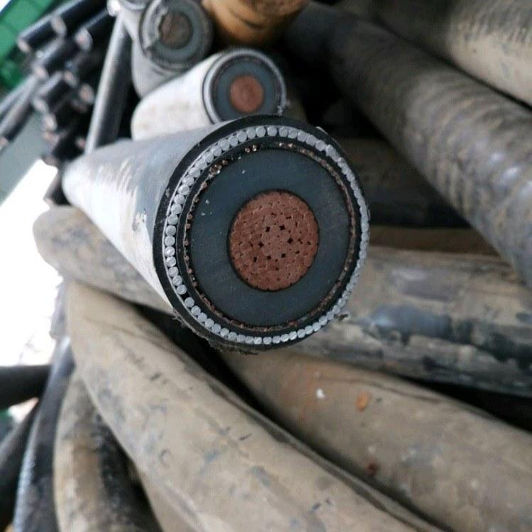 废旧电缆回收价 回收工厂电缆
