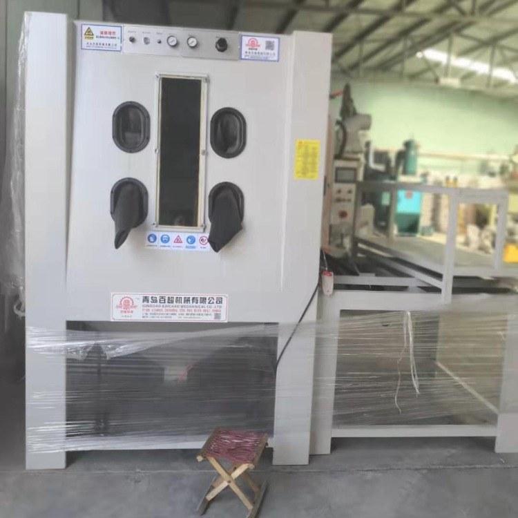 河南三门峡喷砂机山东青岛崂山黄岛 加压手动喷砂机厂家直销 质量稳定可靠