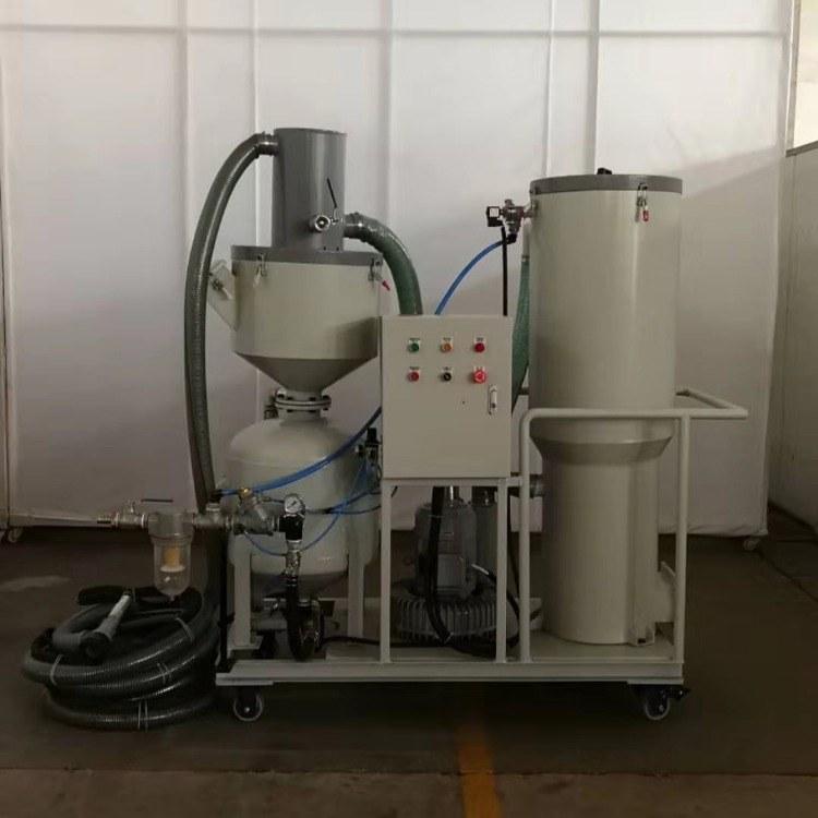 山东章丘济南长清济阳回收式移动喷砂机厂家直销  去氧化皮 效率高 产品美观