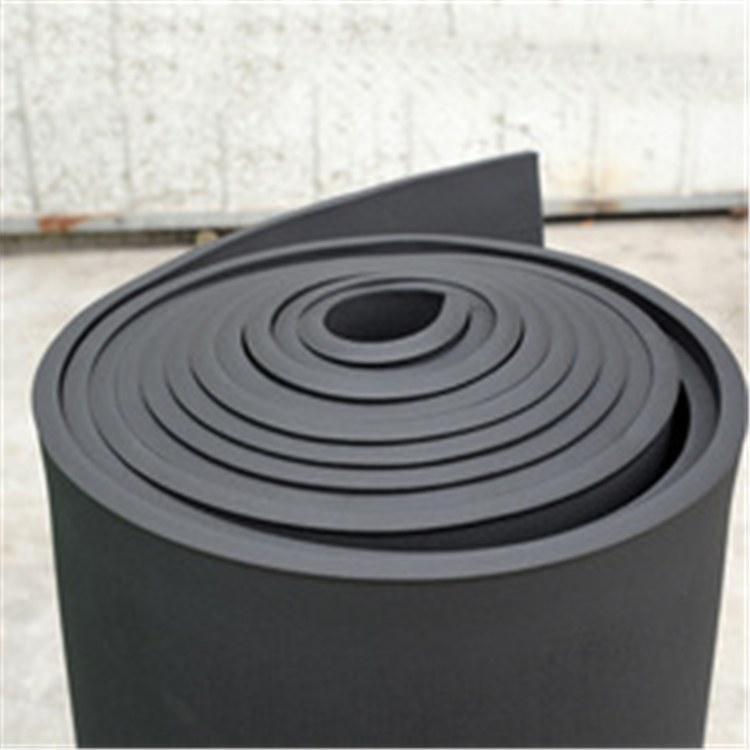 橡塑板厂家直销 b1级高密度自粘不干胶彩色橡塑海绵板材