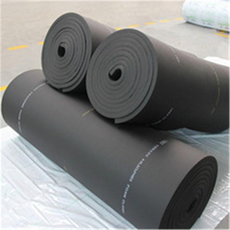 批发定做 高回弹橡塑板 B1B2级隔热橡塑板