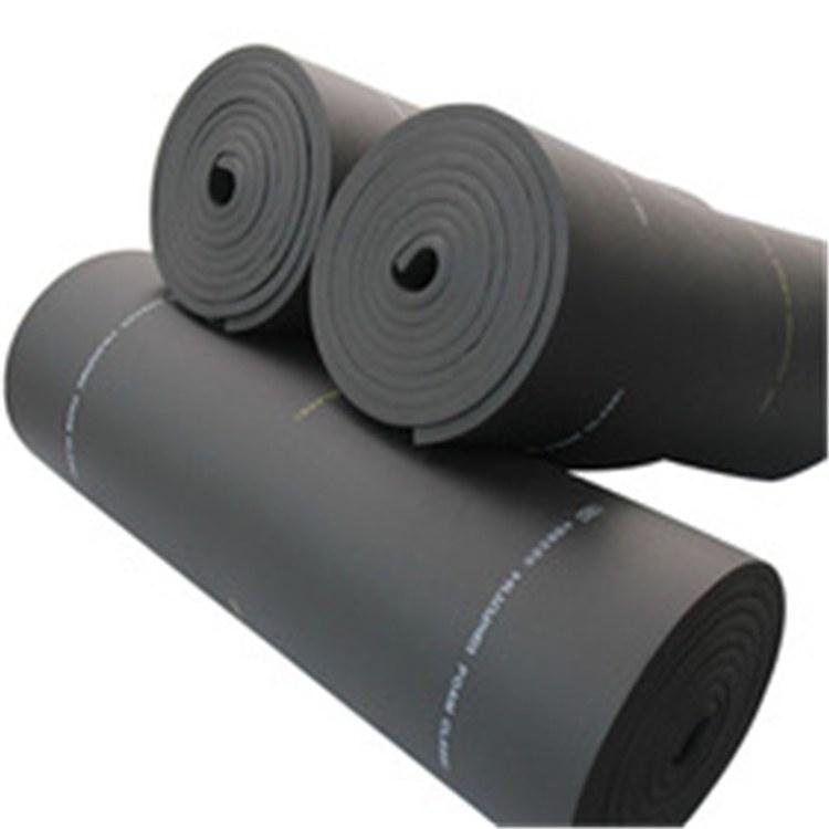 华美厂家供应橡塑保温板b2级橡塑板 可加工定制 保温防火吸音隔热板
