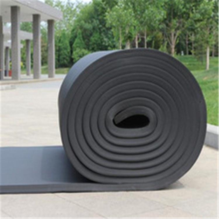 供应隔热阻燃橡塑板管保温隔热隔音防火橡塑贴铝箔