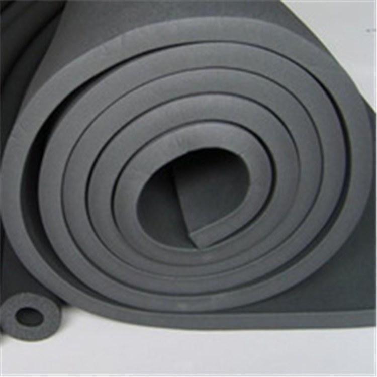 供应华美神州橡塑板 b1级高密度自粘不干胶彩色橡塑海绵板材