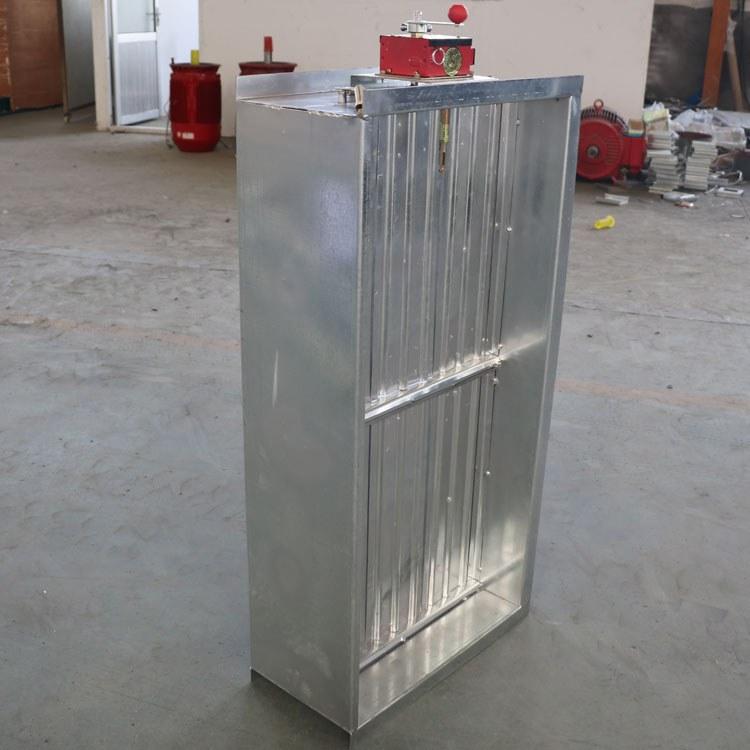 直销圆形全自动风管防火阀 280度多叶排烟防火阀 3C认证风量调节阀