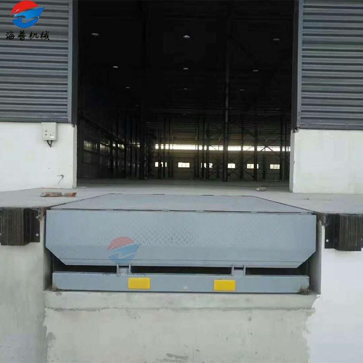 仓库物流装卸货斜坡平台 固定式登车桥 月台液压上车桥