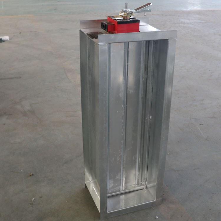 远程防火阀280℃山东同创定制风管调节阀手动风量调节阀150度排烟阀