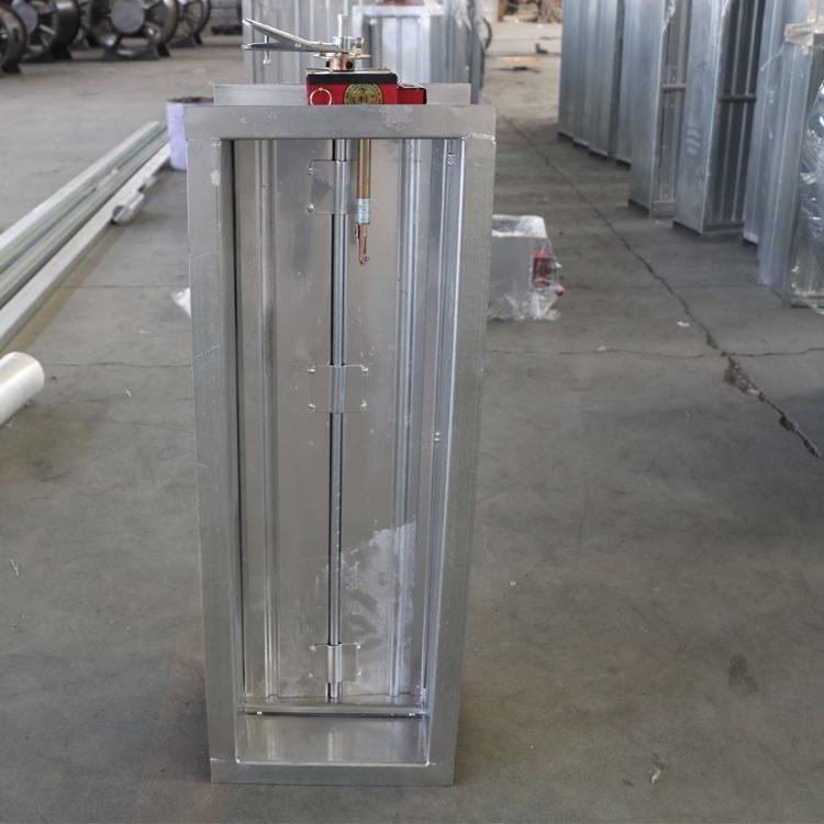 70度电熔电动防火阀电动风量调节圆阀远程防火阀280℃