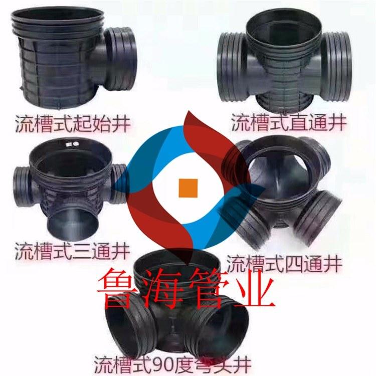 厂家直销聚乙烯HDPE中空缠绕管、塑料检查井、HDPE中空缠绕管、井筒管