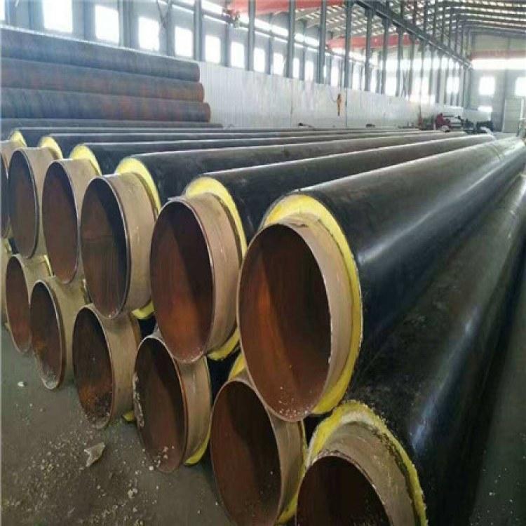 高压电专用 聚氨酯保温钢管价格 钢套缸保温钢管