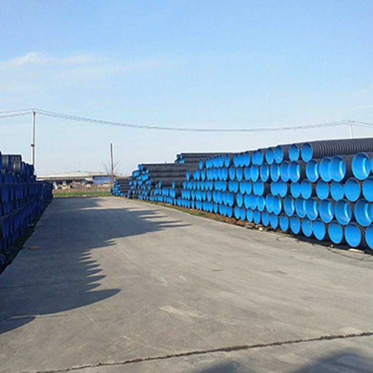 安徽六安HDPE双壁波纹管厂家直销  DN300SN8国标波纹管 产品耐腐蚀 一手货源 欢迎订购