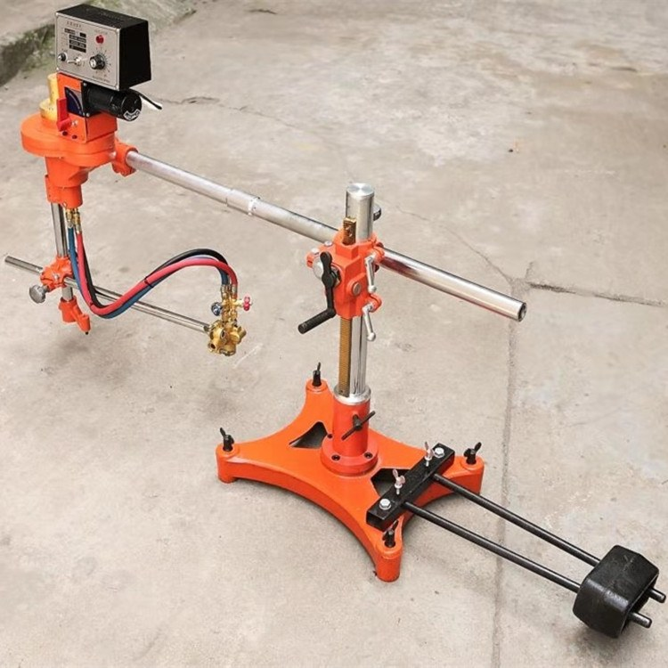 一诺机械半自动割圆机 火焰切圆机 CG2-600切割圆机