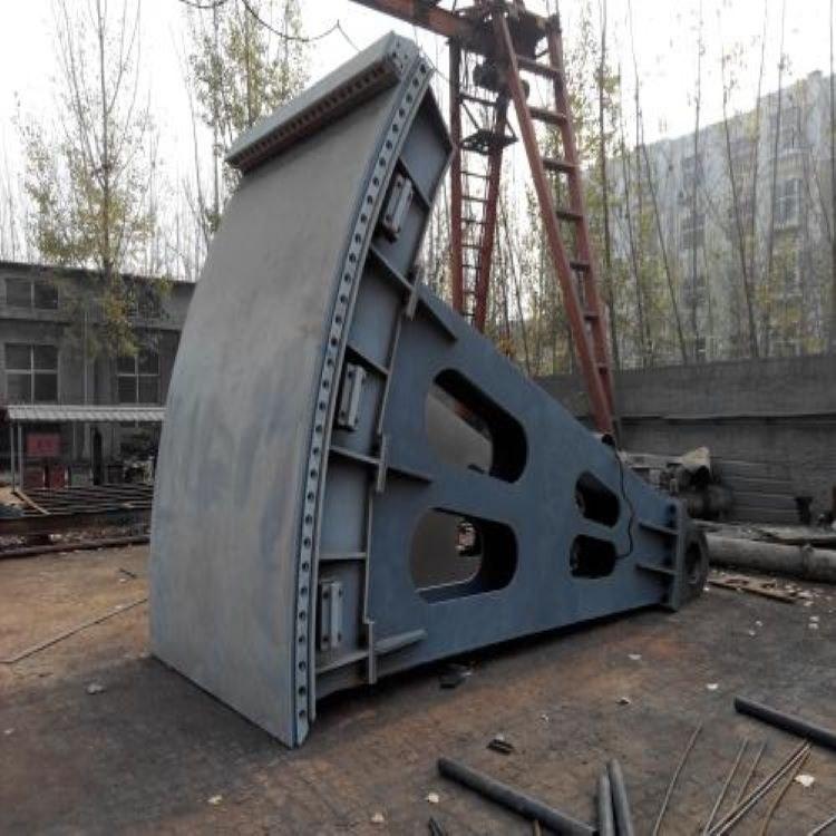 【华硕】拱形钢制闸门 弧形钢制闸门 一站式采购