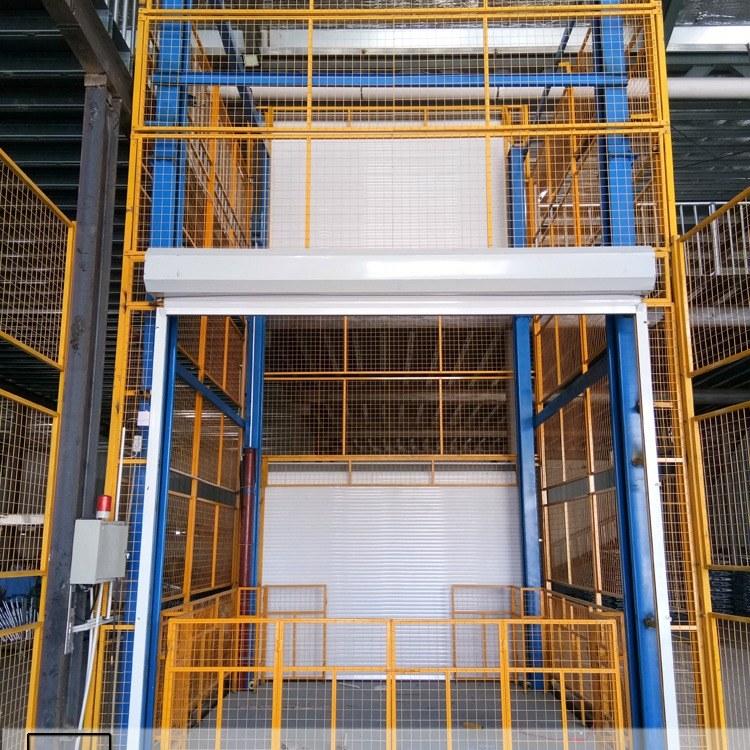 帕沃科技厂家供应深圳四柱提升机  三层货物举升机 智能工业货梯