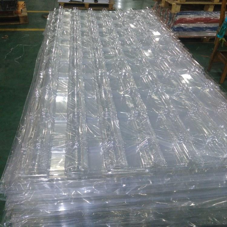 PC耐力板厂家 佛山透明树脂瓦生产厂家 PC波浪瓦