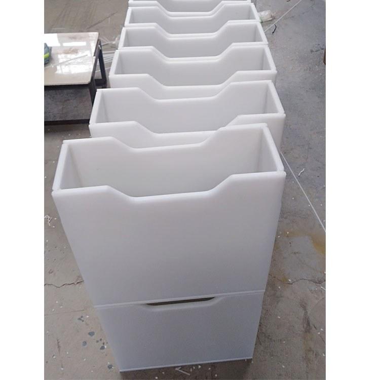 聚乙烯PP板PE板防腐蚀水箱,拌药箱厂家定制加工