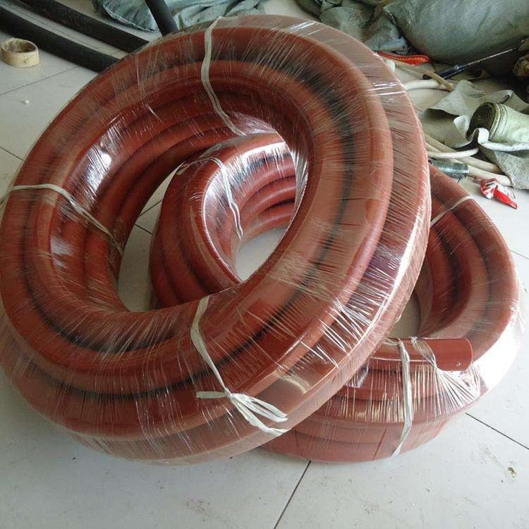 来图加工定做夹布帘子线高压钢丝编织蒸汽胶管 三元乙丙蒸汽胶管 抗老化使用寿命长