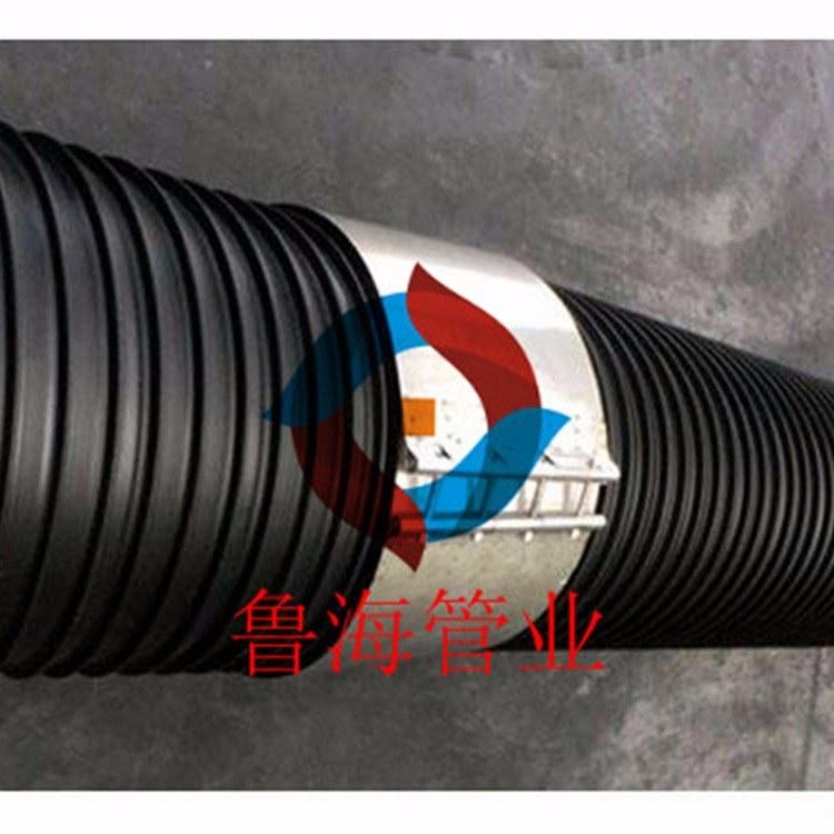 PE塑钢缠绕管/HDPE塑钢缠绕管