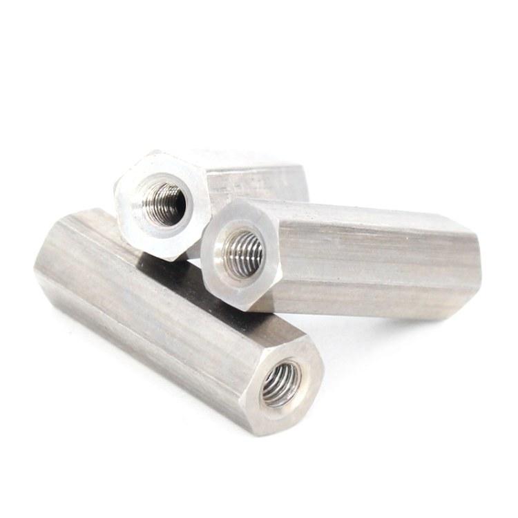 JST晋升泰 深圳 双通铜柱六角 M2M3M4螺柱接线柱支撑隔离柱双通铜柱 厂家