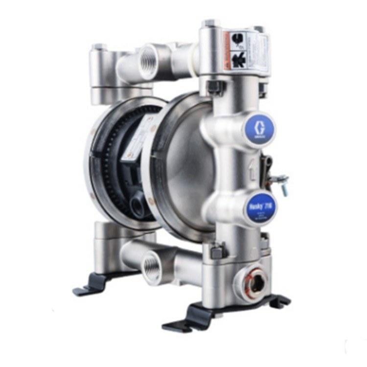 固瑞克GRACO气动隔膜泵Husky716气动双隔膜泵流体输送隔膜泵