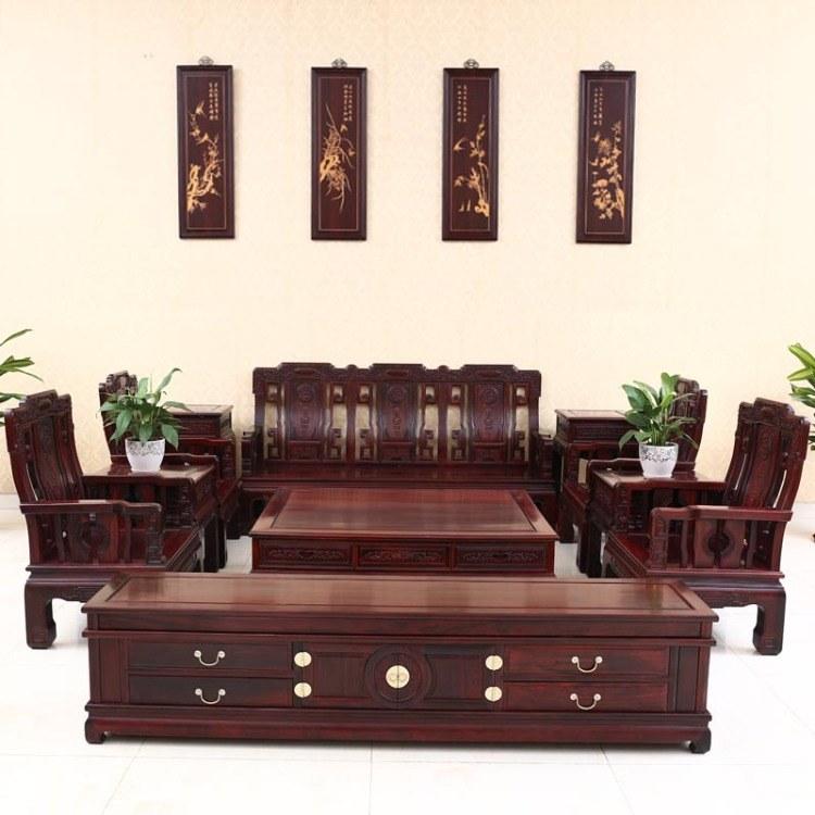 福联居红木家具客厅视听柜实木带抽电视柜酸枝储物柜 价格面议