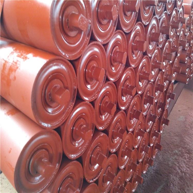 河北衡水托辊槽型支架辊 加厚碳钢托辊支架  DTII型 发往唐山客户