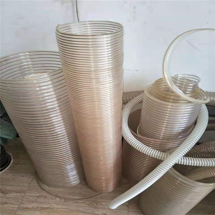 钢丝PU管 快速接头PU管 大口径防静电聚氨酯软管加工定制