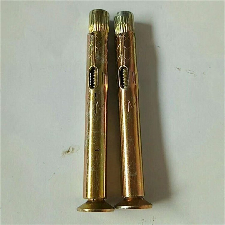 源头厂家之下国标  紧固件 M6×100十字沉头内膨胀 内膨胀螺丝 内膨胀管
