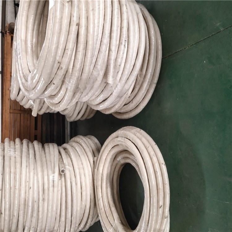 河北弘创厂家直销耐高温石棉胶管  外包石棉胶管 无碳绝缘胶管 品种齐全
