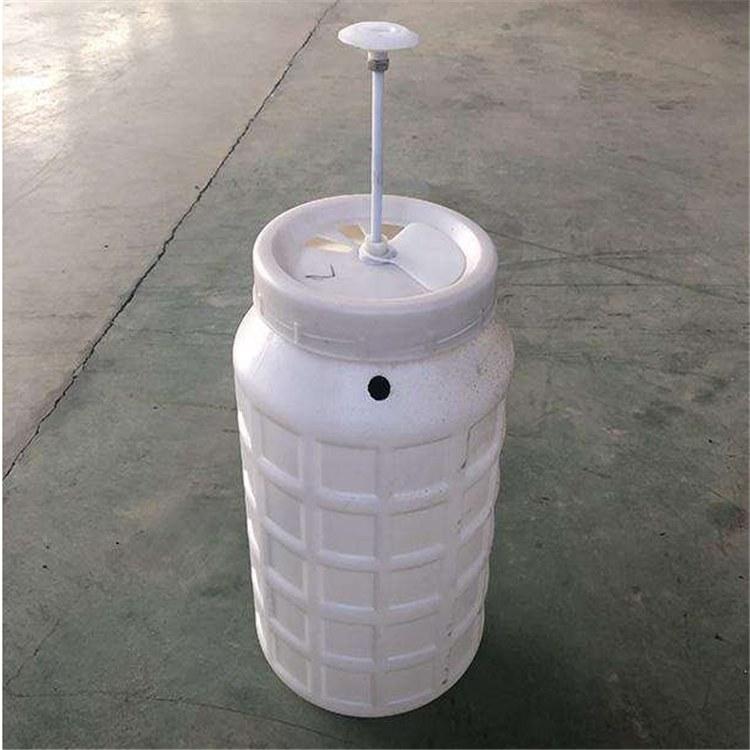 注塑冲厕器35升@ 塑料耐压冲水桶 ¥旱厕改造专用冲厕器 旱厕冲水桶