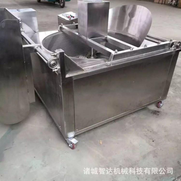 鱼豆腐鸡米花油炸机 调理品油炸流水线 高效节能 厂家直销